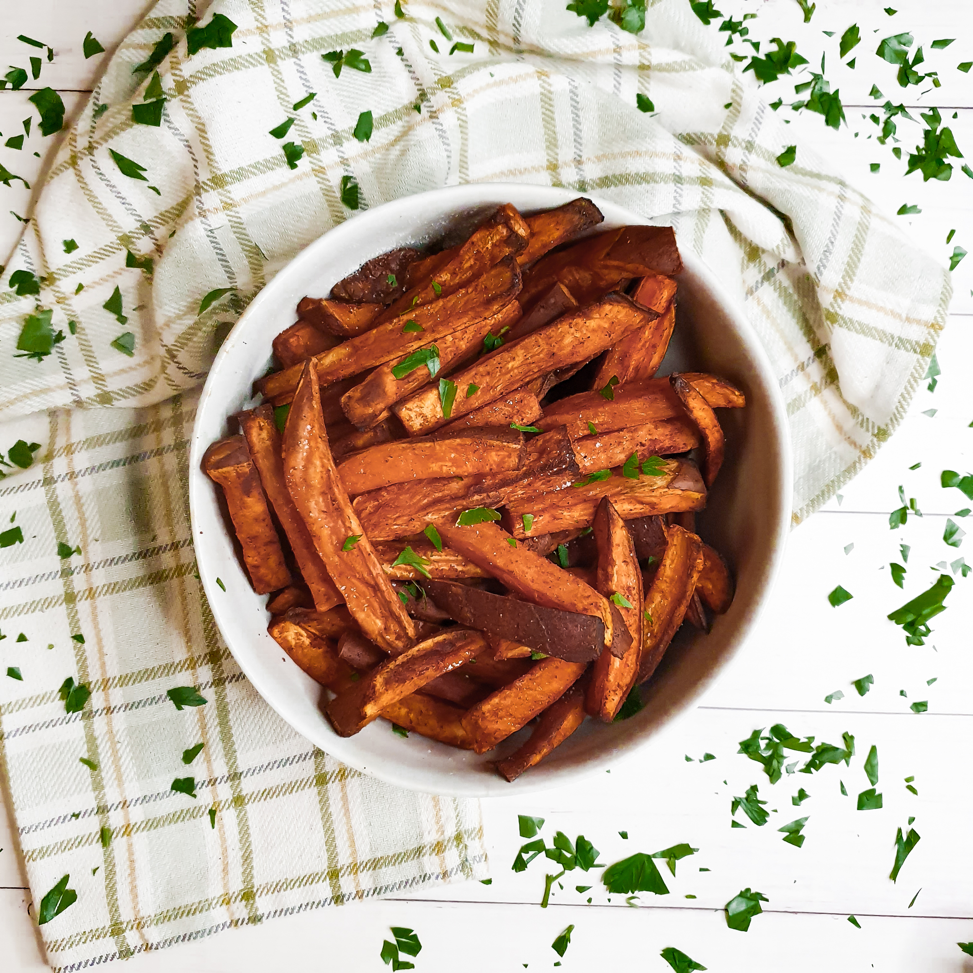 Crunchy Oven Baked Sweet Potato Fries Cooking With Bry